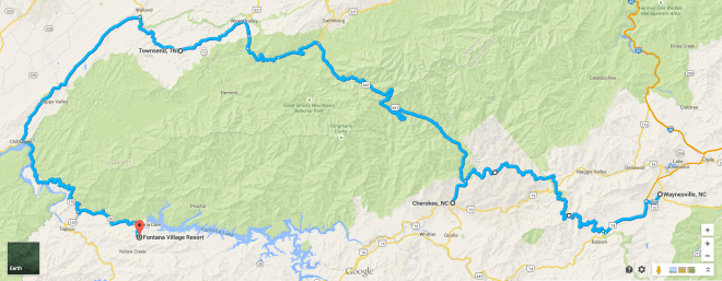 Day 44 Route