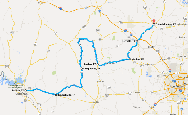 Day 22 Route