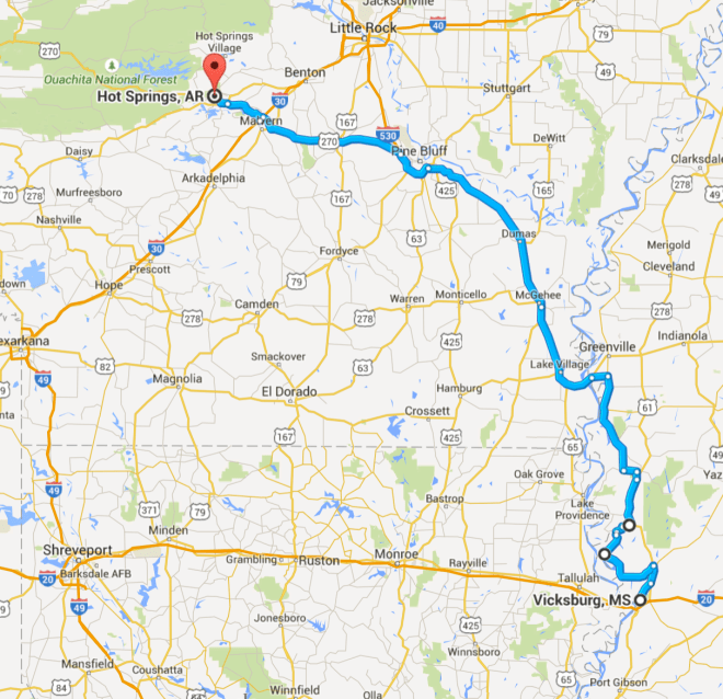 Day 50 Route