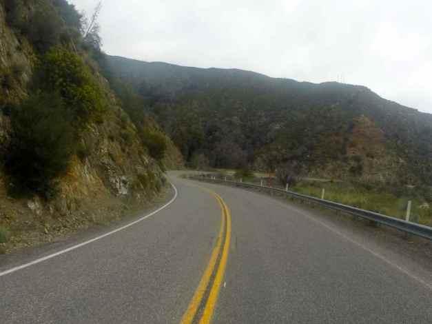 Hwy 2, San Gabriel Mtns, CA