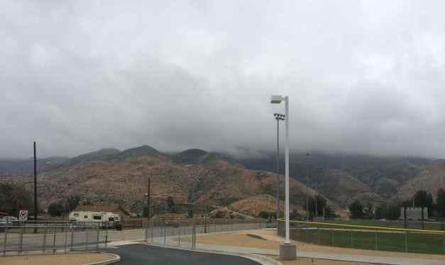 Clouds covering San Jacinto Mountain