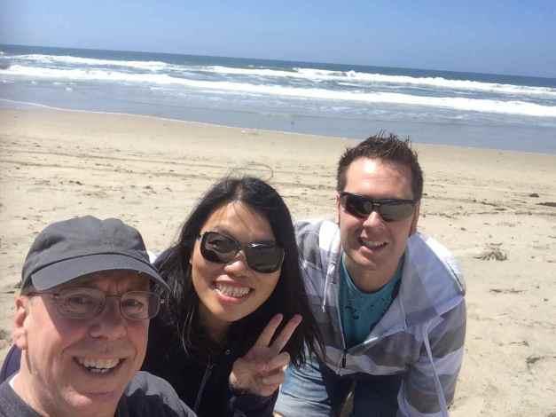 Beach time with mi amigos