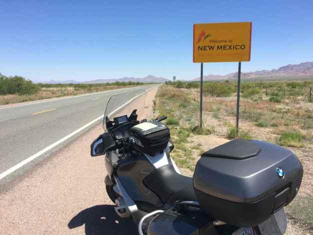 Hwy 80 at border of New Mexico and Arizona