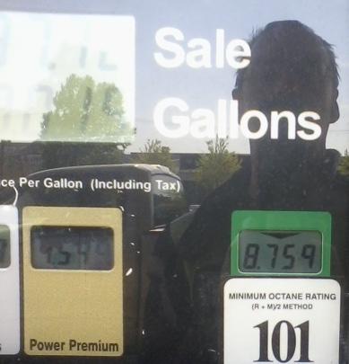 101 Octane gas