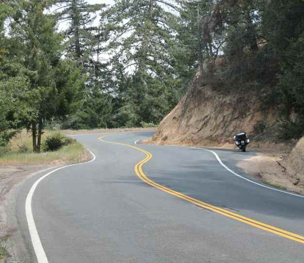 Hwy 138 above Silverwood Lake, CA