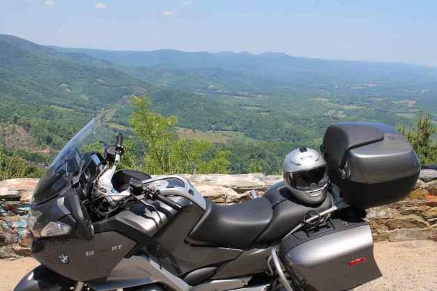 The Saddle Overlook, Blue Ridge Parkway