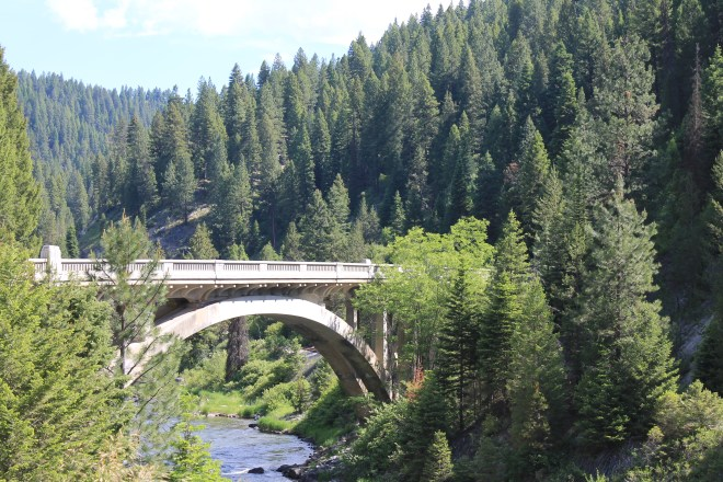Rainbow Bridge, Hwy 55 Idaho