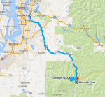 Meetup Group Ride to Sunrise - map