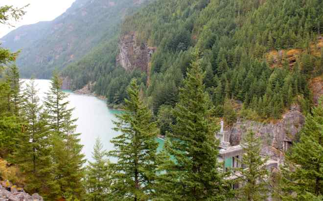 Gorge Lake and Dam