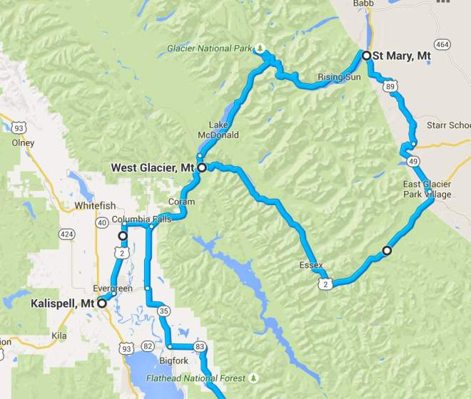 Day 2 Route - close up