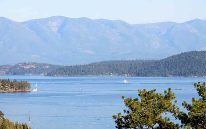 Flathead Lake near Lakeside, MT