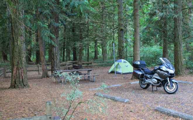 Obligatory campsite photo