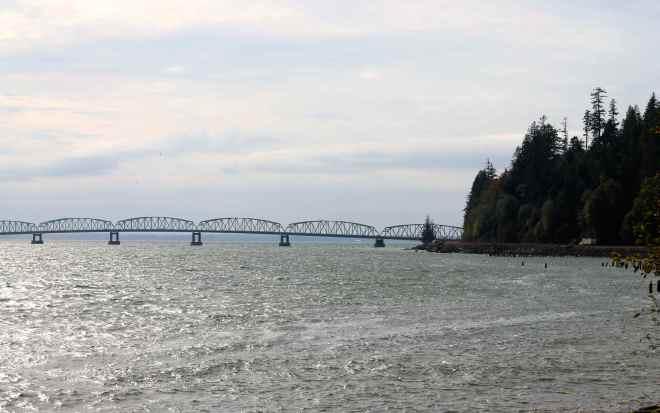 Astoria-Megler Bridge over the Columbia River