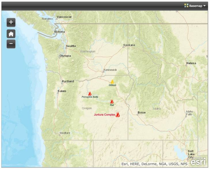 Forest Fire Map