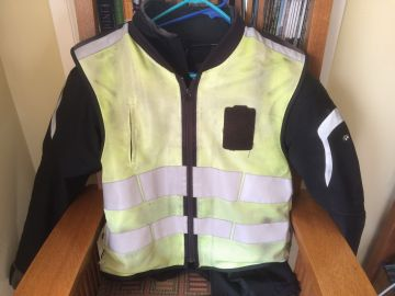 Old safety vest