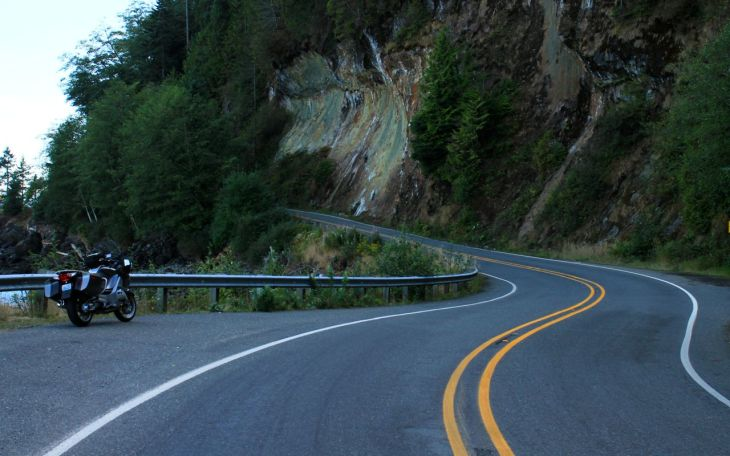 Curve in highway 112