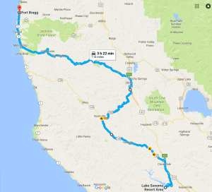 Day 4 route