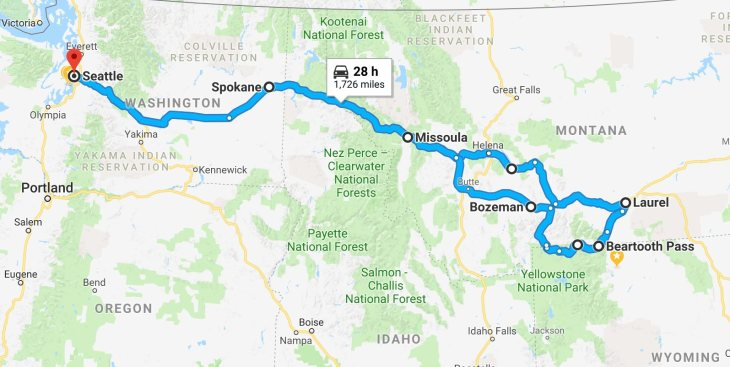 Trip Route