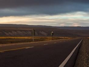 Sunset on Ruta 40.