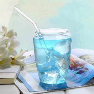 Glass Drinking Straws Set