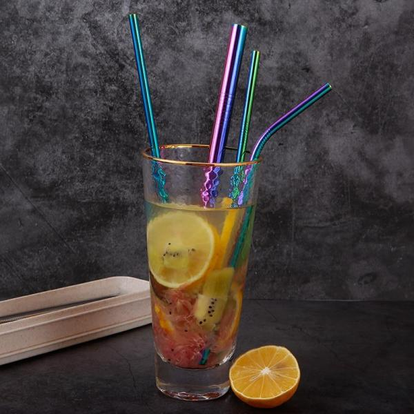 Stainless Steel Straws Set