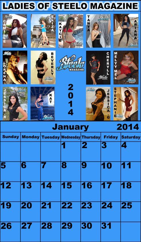 January 2014 calendar new