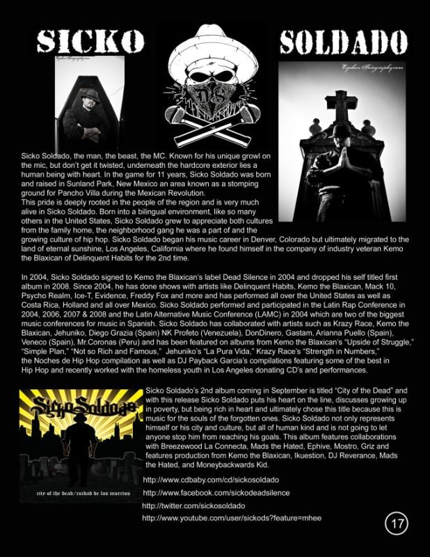 page 18 sicko soldado magazine add
