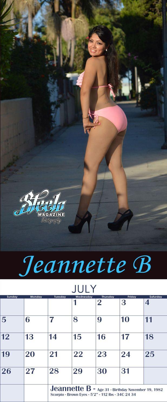 July 2015 Calendar Jeannette B 2