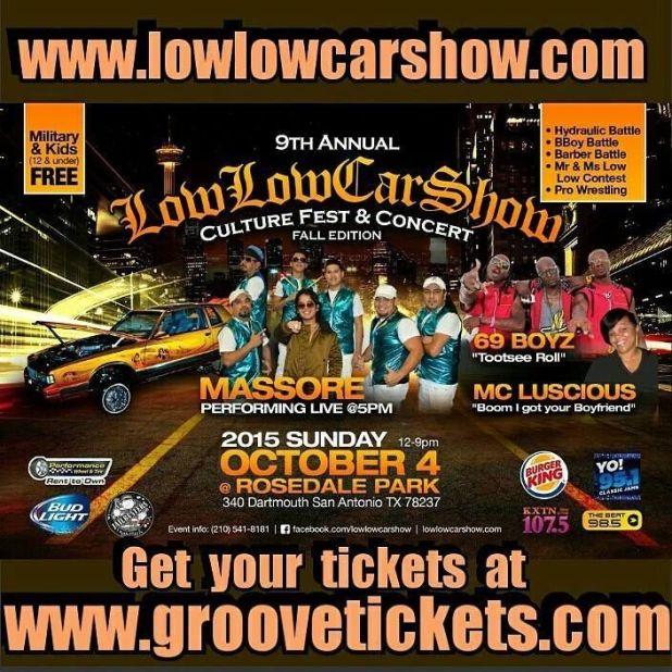 Texas show October 4th 2015