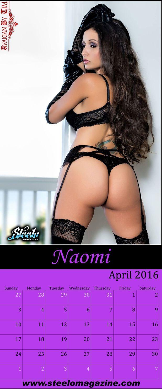 April 2016 Calendar Naomi 2