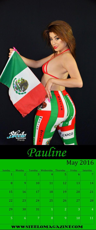 May 2016 Calendar Pauline