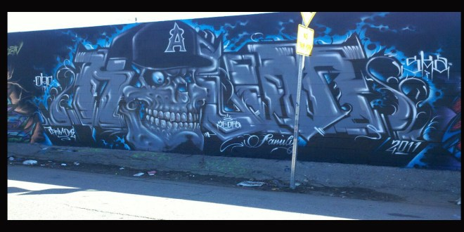 Steelo Magazine Features Kalm One Graffiti Artist