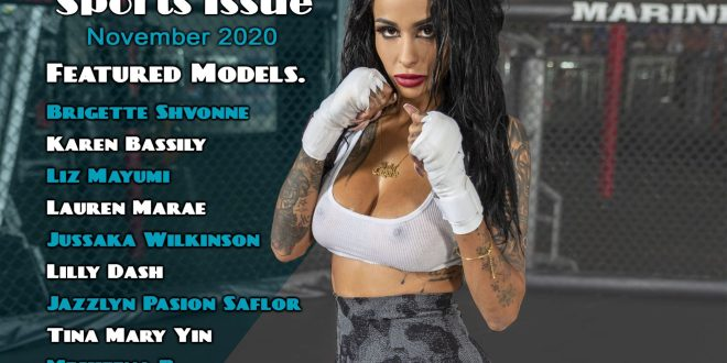 Steelo Magazine – Sexy Sports Issue November 2020