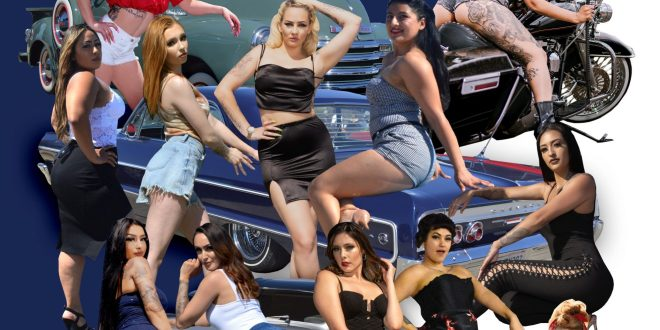 Steelo Magazine – Beauties on Wheels & Heels May 2021 issue