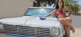 Steelo Magazine Model – Rachel R (Car Wash Shoot)