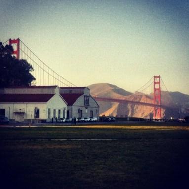 San Francisco on a shoot