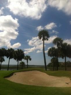 golfing at Hilton Head