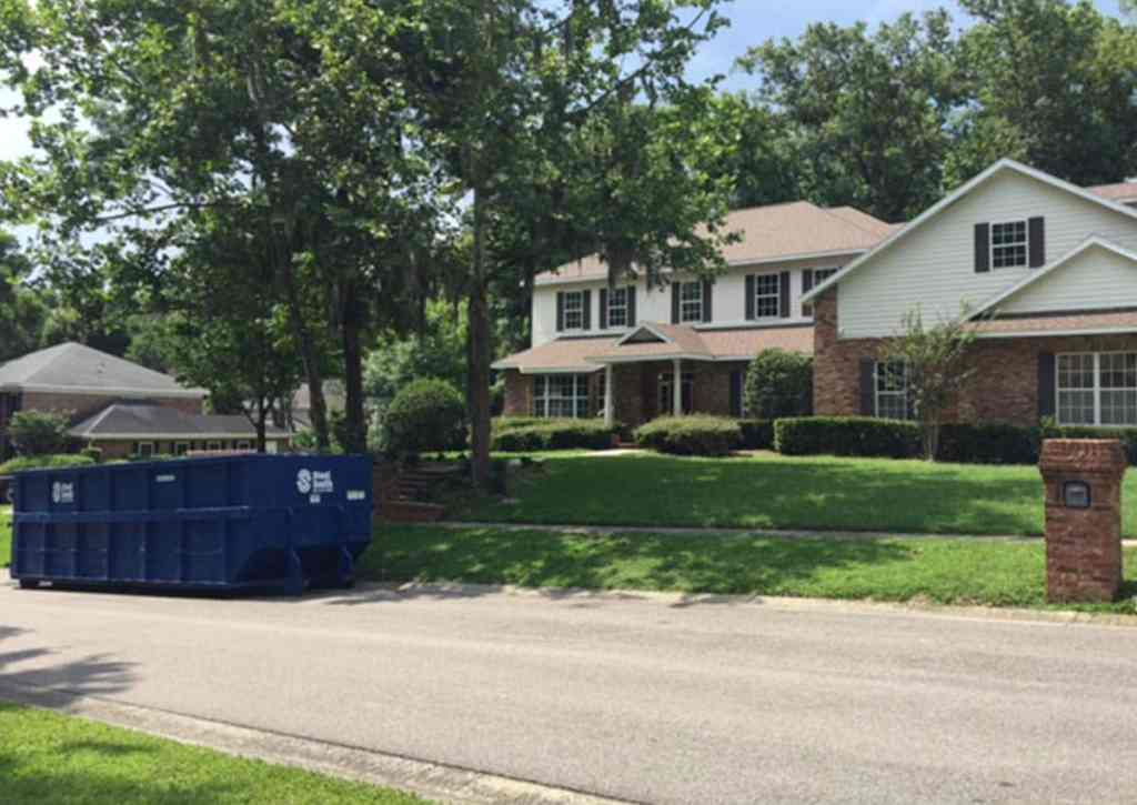 Brandon FL dumpster rental - a residential customer for a home remodel