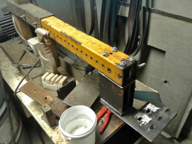 assembling mechanic grinder mounting 3