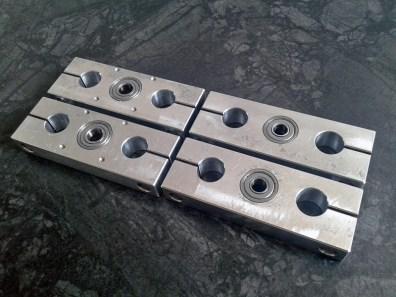 CNC milling aluminium blocks 5
