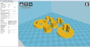 Cura 3D printing