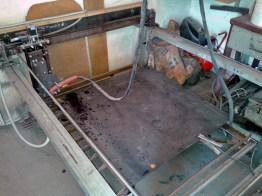 sheet steel plasma CNC cutting 1