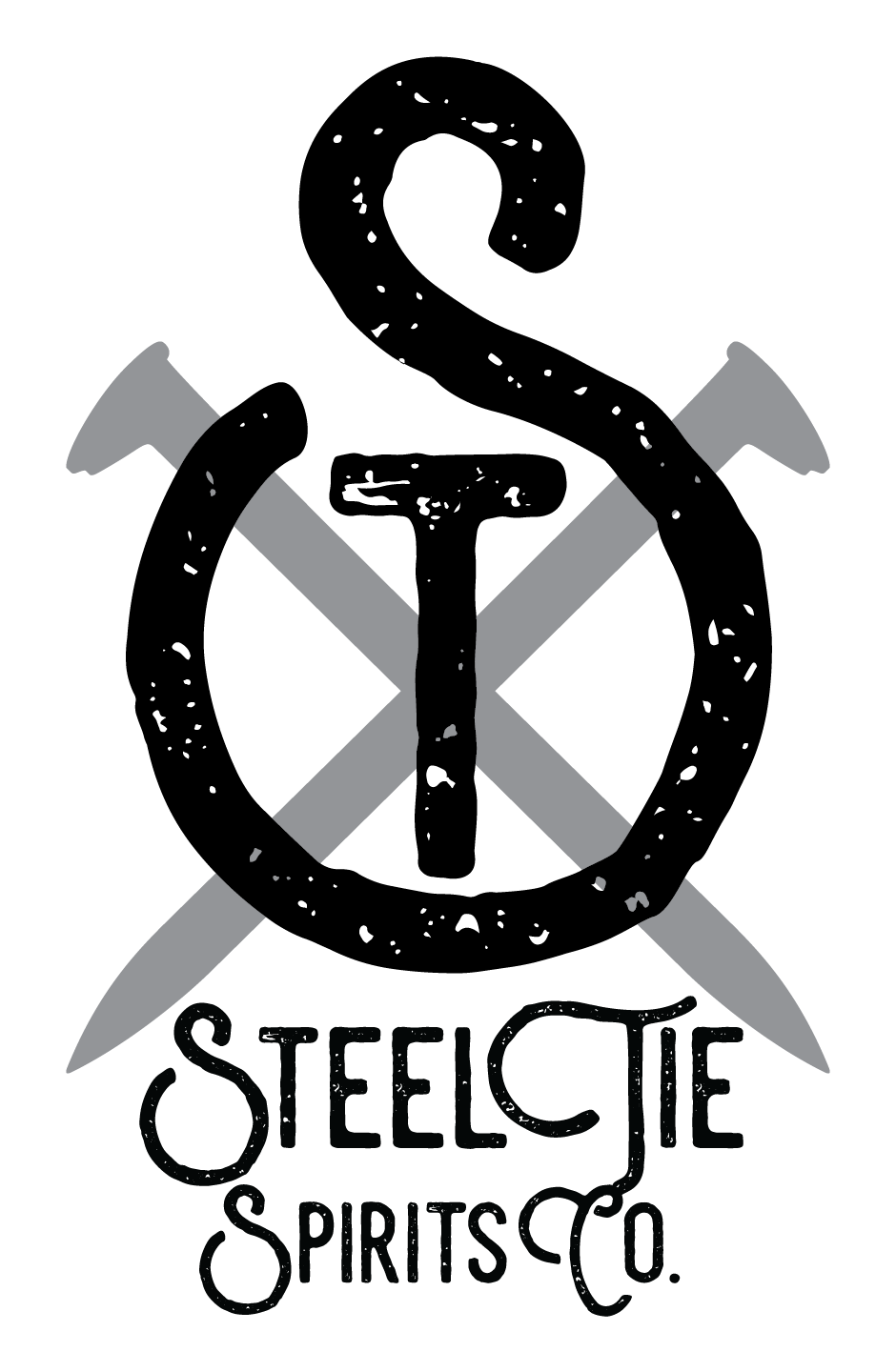 Steel Tie Spirits Co. Logo