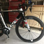 Dani's Giant Envie Aero road Bike