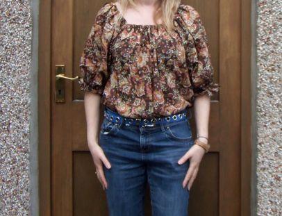 Outfit 3: Boho blouse