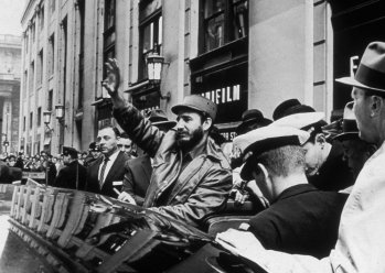 Image result for 1960 – Fidel Castro arrives in New York