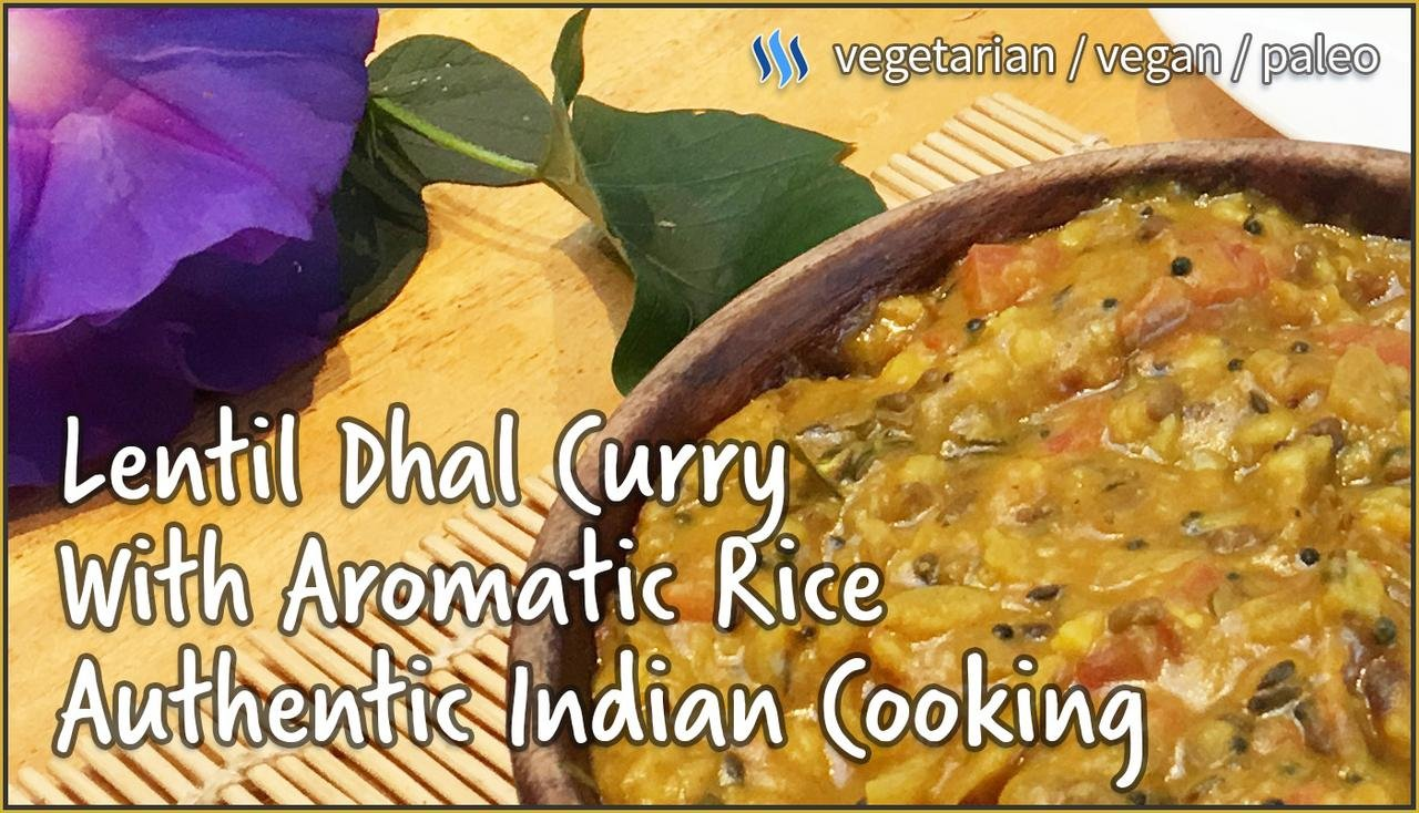 Lentil dahl curry