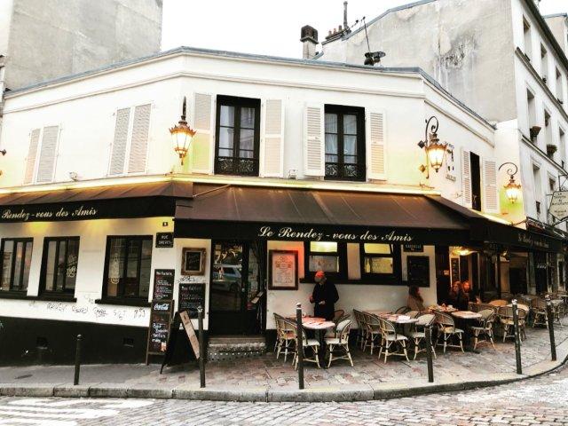 파리 카페 거리2