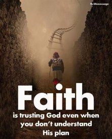 Image result for TRUSTING GOD IN FAITH