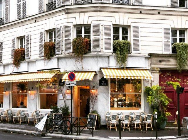 파리 카페 거리1